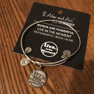 Live in the Moment Alex and Ani Bracelet